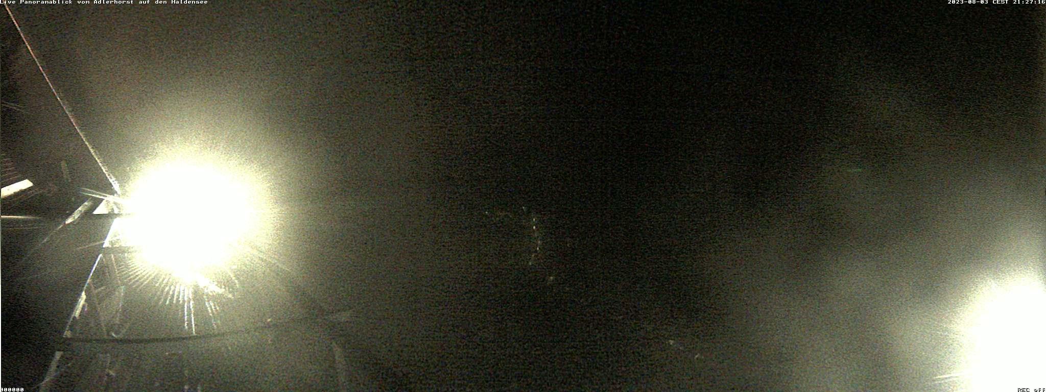Berghütte Adlerhorst - Blick Richtung Süden auf den Haldensee, Haller und Nesselwängle und Krinnenspitze