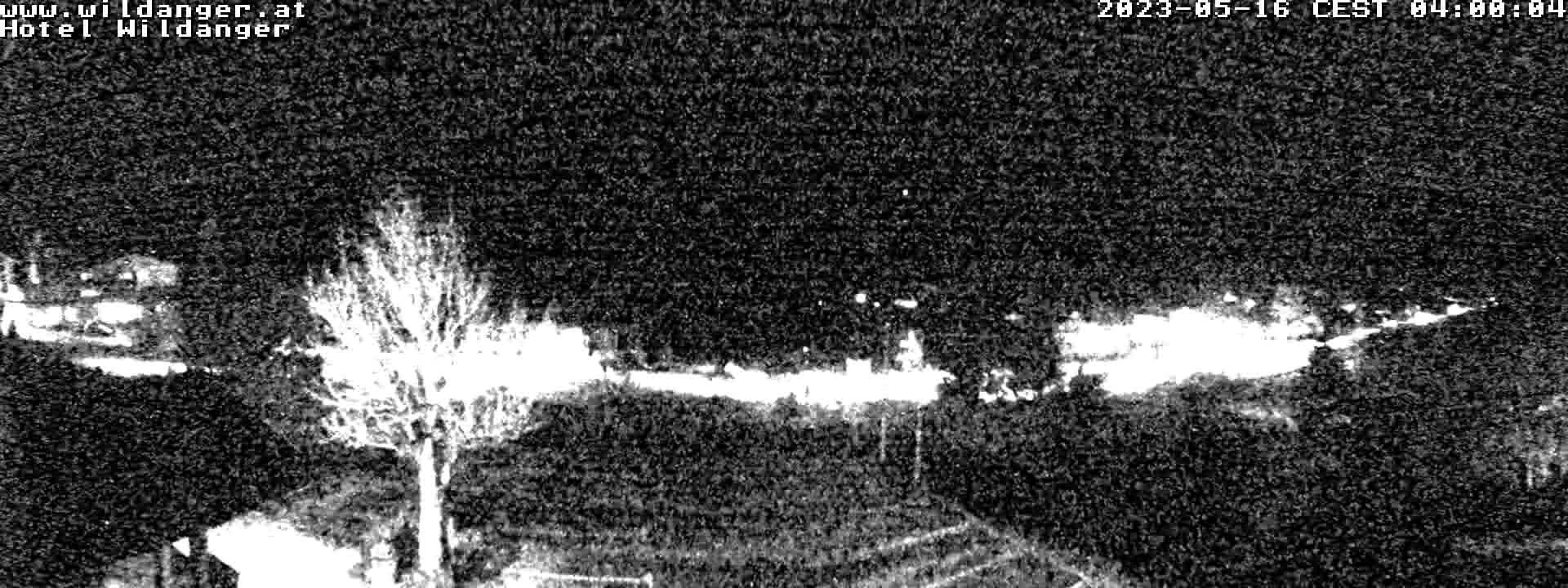 Webcam Zoeblen - Blick vom Hotel Wildanger zum Lift